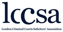 London Criminal Courts Solicitors' Association header image